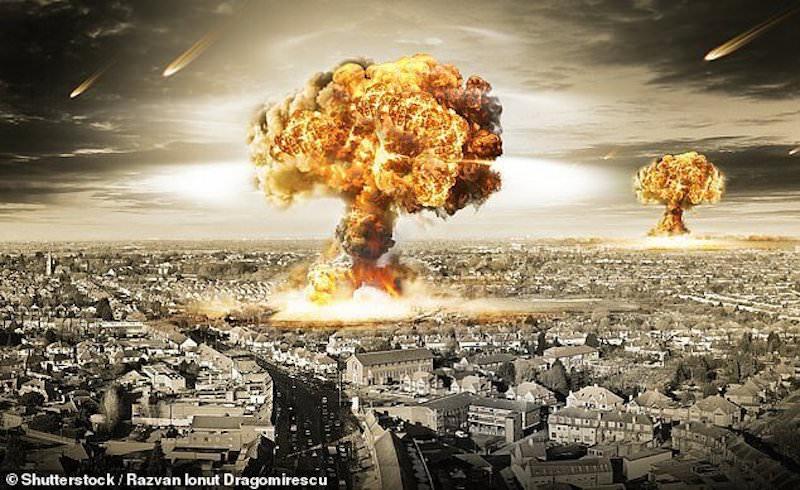 Американцы смоделировали ядерную войну между Россией и США