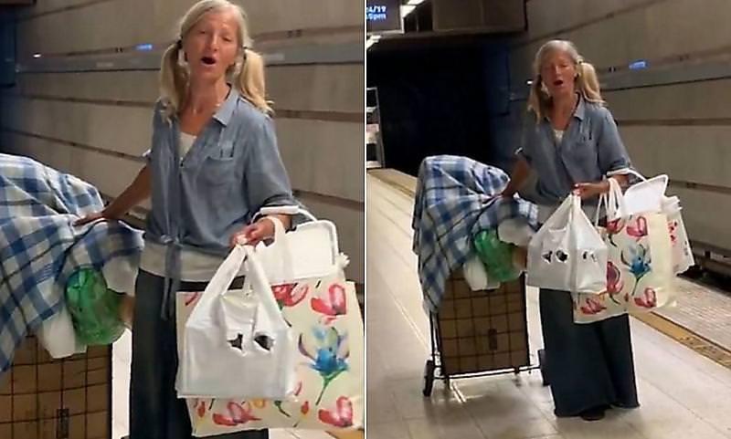 Happy end: бездомная россиянка из метро в Лос-Анджелесе приглашена на большую сцену
