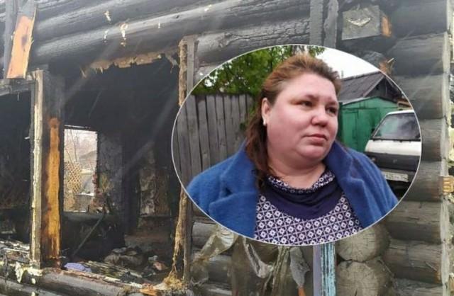 Сибирячка вытащила из горящего дома трех малышей, а все кричали, что там пусто