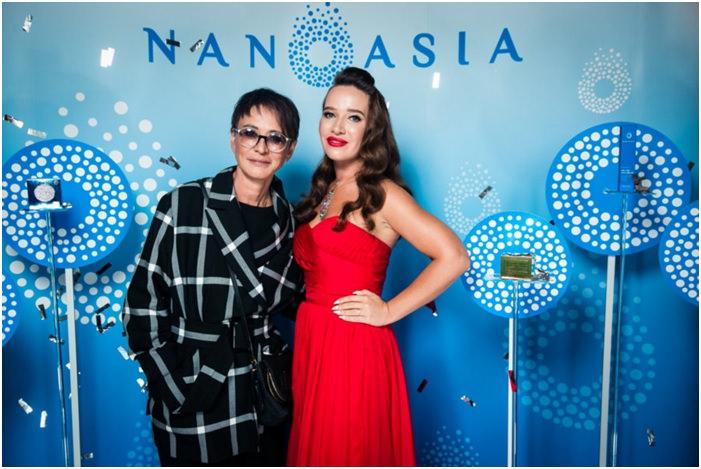 Кира Сорокина отпраздновала два дня рождения - свой и компании Nanoasia