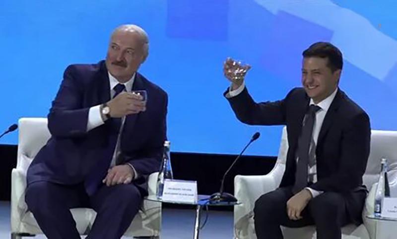 Лукашенко перепутал Россию и Украину, но с юмором выкрутился