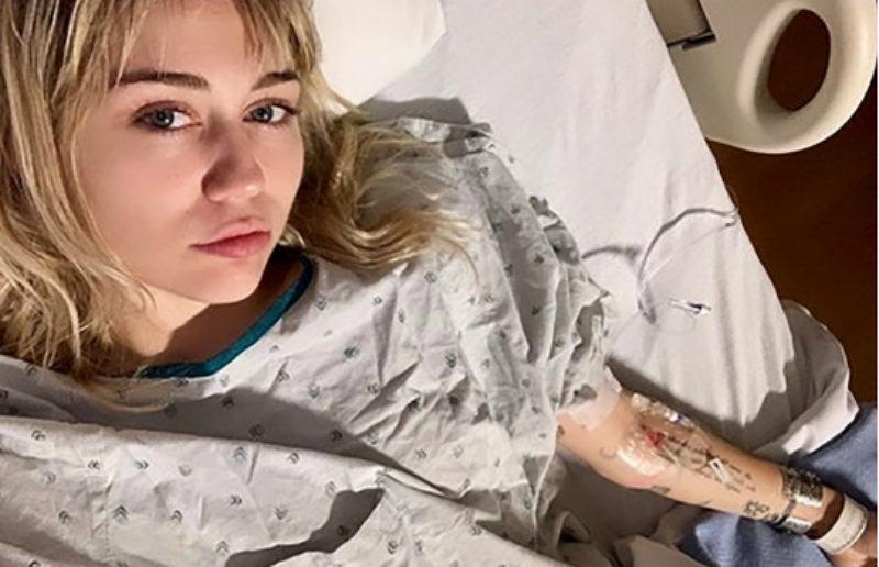Майли Сайрус экстренно госпитализировали