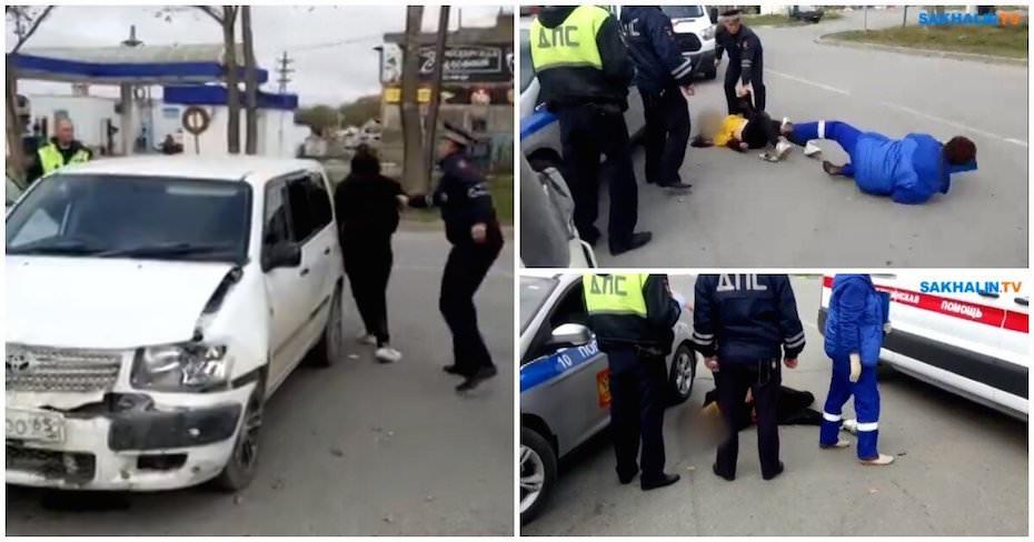 Пьяная 14-летняя сахалинка устроила покатушки на угнанном автомобиле
