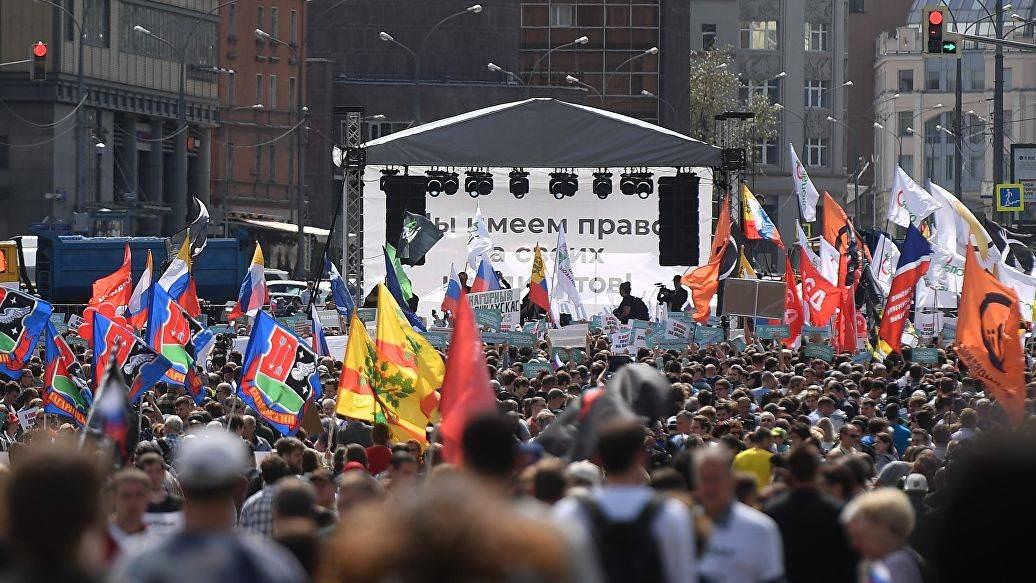 Протесты охватят всю Россию за исключением двух регионов