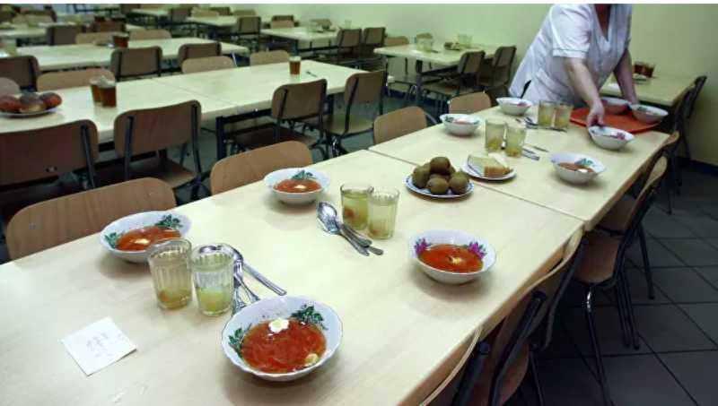 Названа средняя стоимость питания в российских школах