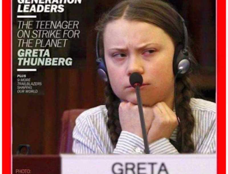 Депутат Госдумы пригласил юную шведку, у которой мировые лидеры украли детство, выступить в России