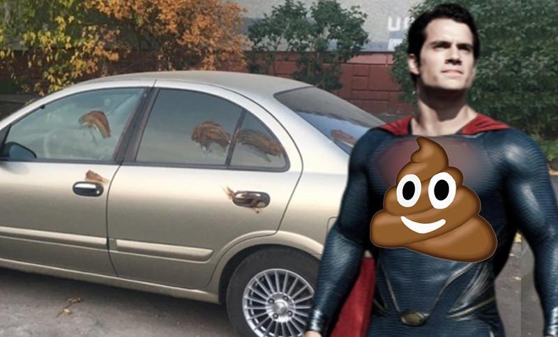 Говномэн: в Омске появился  свой супергерой,  карающий фекалиями