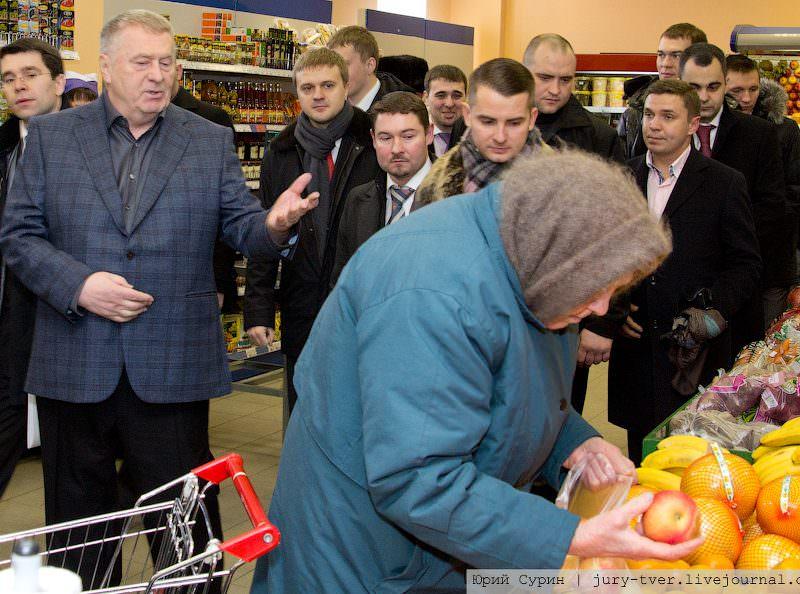 Жириновский предложил открывать в России магазины с просрочкой