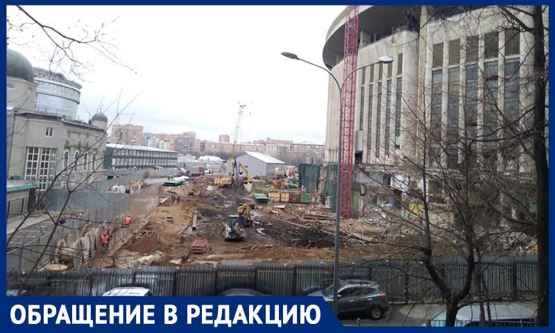 """Несколько месяцев без сна:  москвичи рассказали о шуме из-за реконструкции СК """"Олимпийский"""""""