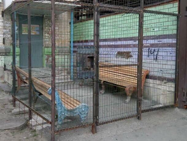 В Невинномысске нашли  двор, обнесенный решеткой