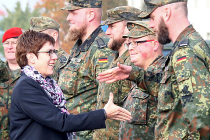 Кадырова обнаружили на фото немецкой армии