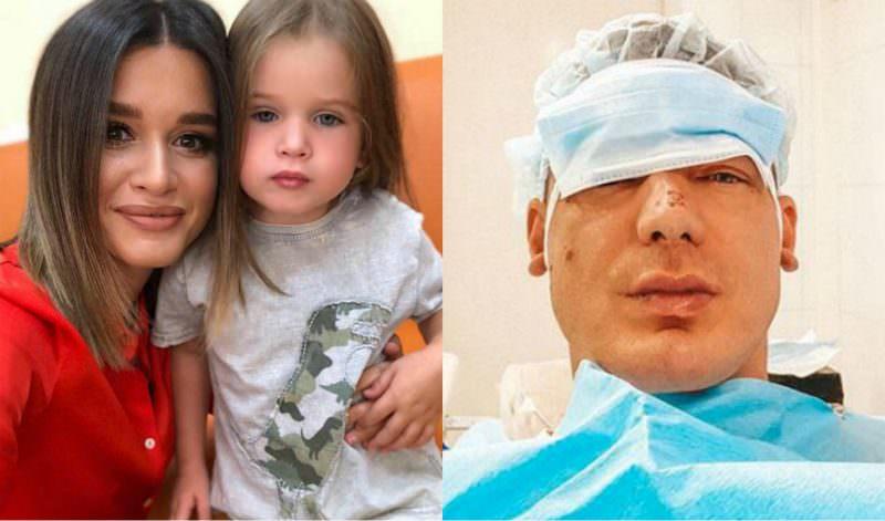 «Переключил мультик Теоны»: муж Бородиной попал в больницу с травмами лица