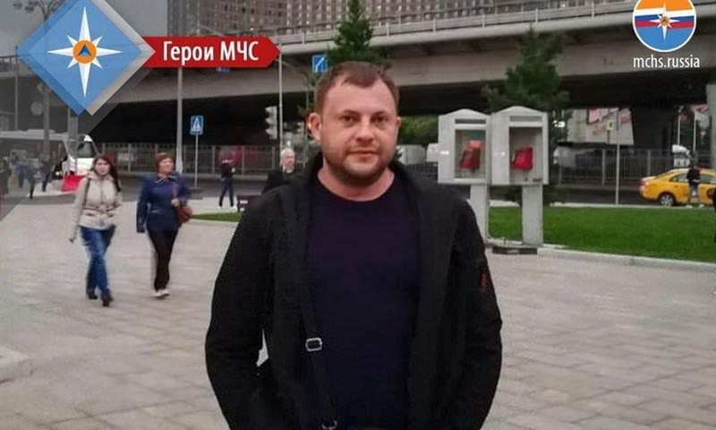 Сахалинец вытащил двоих детей из горящей квартиры