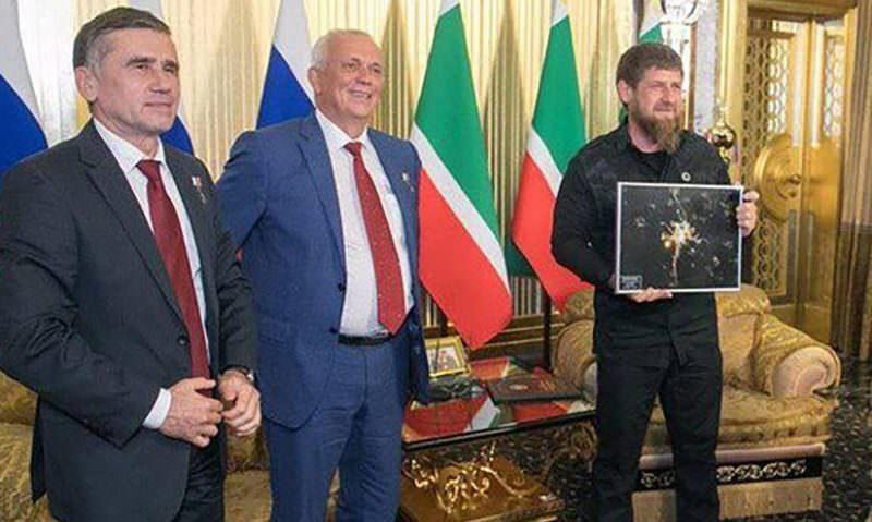 Космонавты попросили Рамзана Кадырова оплатить ремонт бани Гагарина