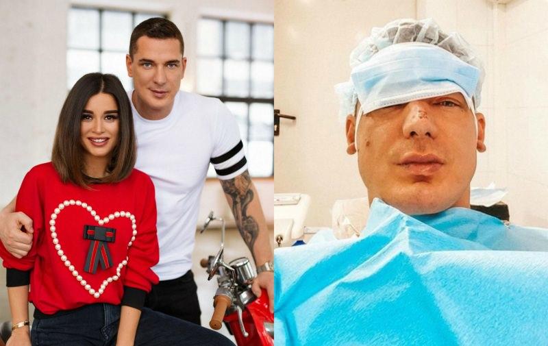 Муж Бородиной о травмах на лице: «Меня избили на съемках шоу»