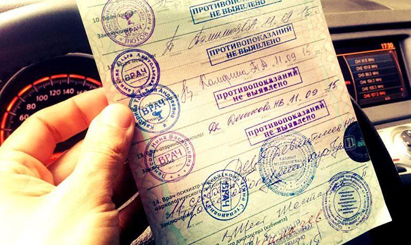 Медсправка на права для водителей подорожает почти в 15 раз