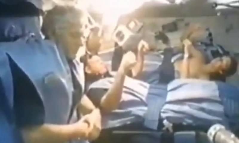 Как в фильме ужасов спят на орбите астронавты