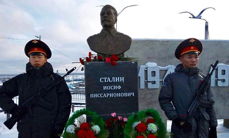 В Якутии установлен  седьмой памятник  Сталину