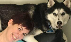 Пес почуял раковую опухоль хозяйки и спас ее жизнь
