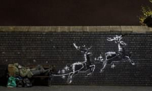 Нарисовав на стене рождественскую фреску, художник напомнил людям о доброте
