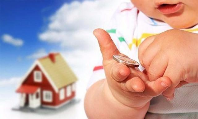Госдума добавила к алиментам выплаты на жильё для ребенка