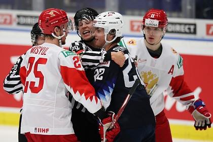 Российская молодежка проиграла США на чемпионате мира по хоккею