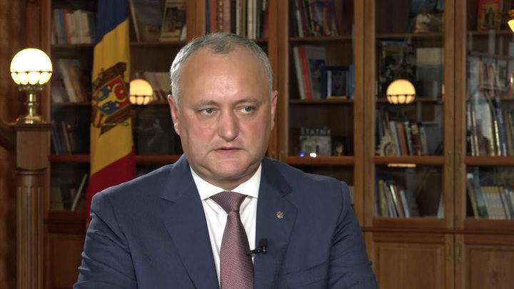 Додон: Путин научил меня защищать интересы Молдавии