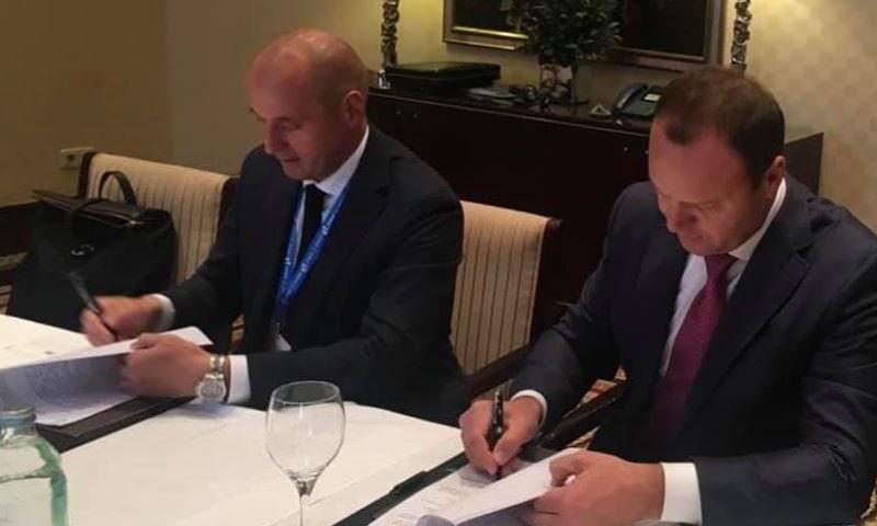 Россия и Украина продлили договор о транзите нефти на 10 лет