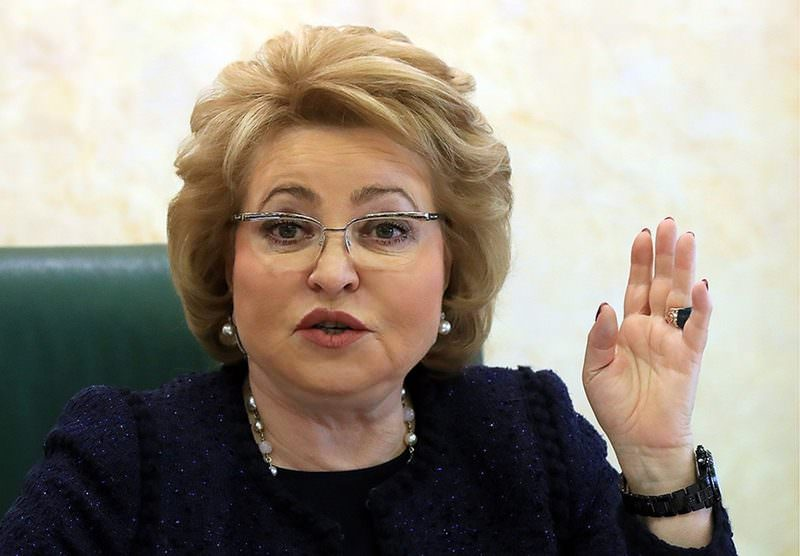 """""""Гнать в шею"""": Матвиенко сказала, что делать с чиновниками, которые хамят - Блокнот Россия"""