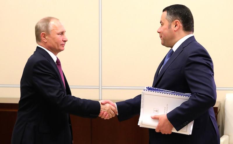 Тверской губернатор оказался в «зоне риска»
