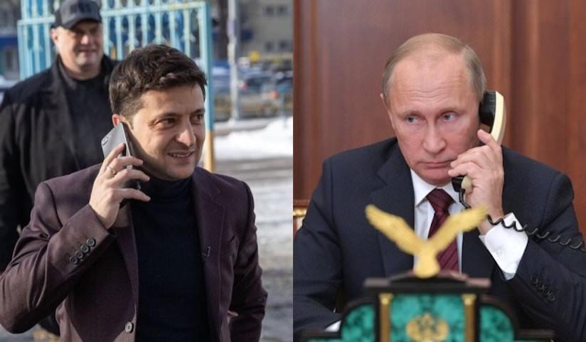 Зеленский позвонил Путину, чтобы поздравить с Новым годом и контрактом