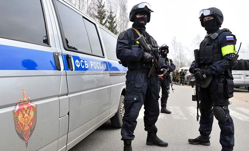 ФСБ задержала  подозреваемых в подготовке  терактов в новогодние праздники