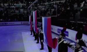 Три российских флага - это супер!