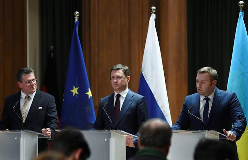 Россия, Украина и ЕС договорились по транзиту газа и сорвали планы США на кризис