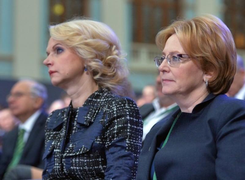 Министр здравоохранения обиделась на Голикову за «ужасную» оптимизацию медицины