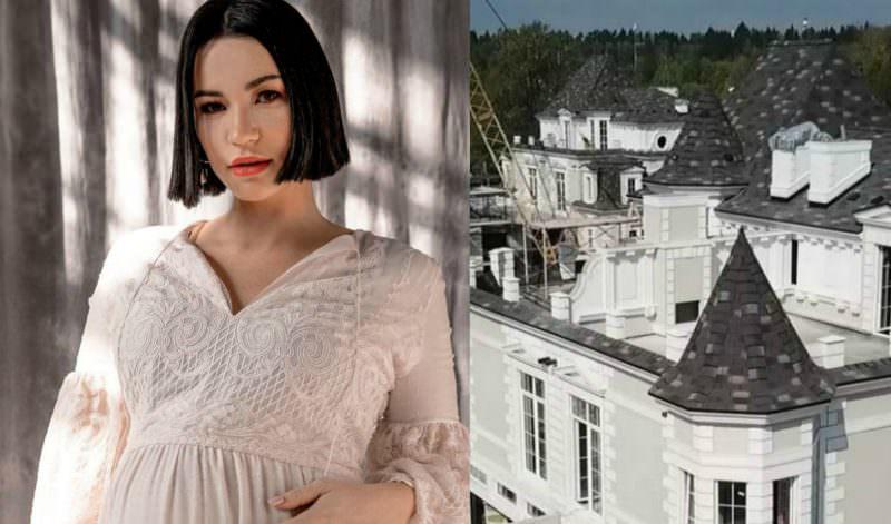 Беременная Ида Галич купила замок в ипотеку