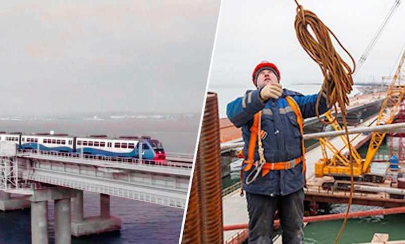 Стыд за Крымский мост: поезд пустили, а долги не вернули