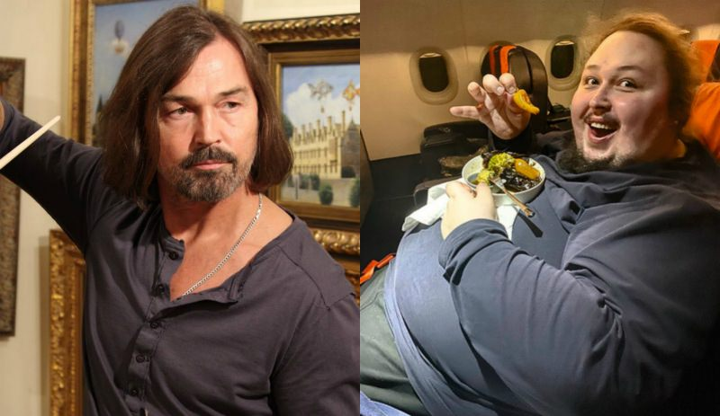 Никас Сафронов о тучном сыне: «Ему хотят отрезать желудок»