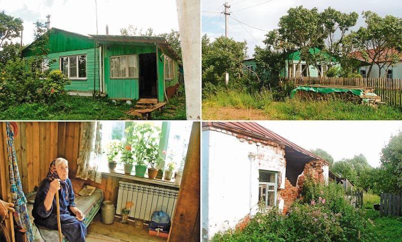 Слепой сын построил старенькой маме домик