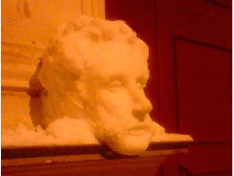 Санкт-Петербургский снеговик - Блокнот Россия