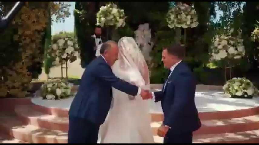 Газзаев выдал замуж дочь на шикарной вилле в Испании