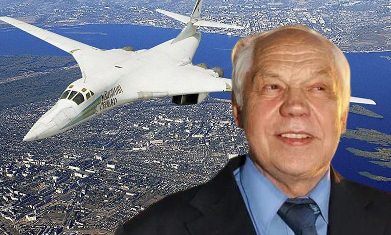 Умер создатель бомбардировщика Ту-160 Валентин Близнюк