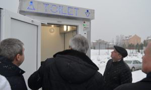 Депутаты «приняли» новую остановку и общественный туалет