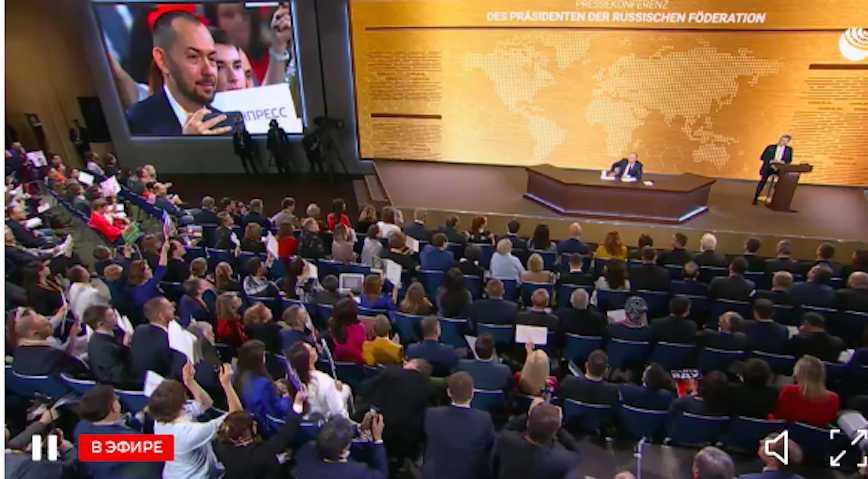 Путин ехидно ответил украинскому журналисту на вопрос о танках на Кубани и долг в 3 млрд