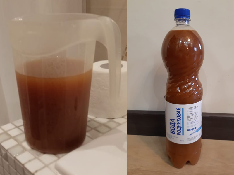 30 лет люди пьют ржавчину: жители Подмосковья просят Путина решить проблему загрязненной воды - Блокнот Россия