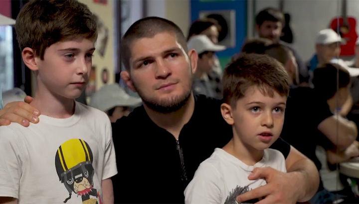 Хабиб Нурмагомедов в третий раз стал отцом
