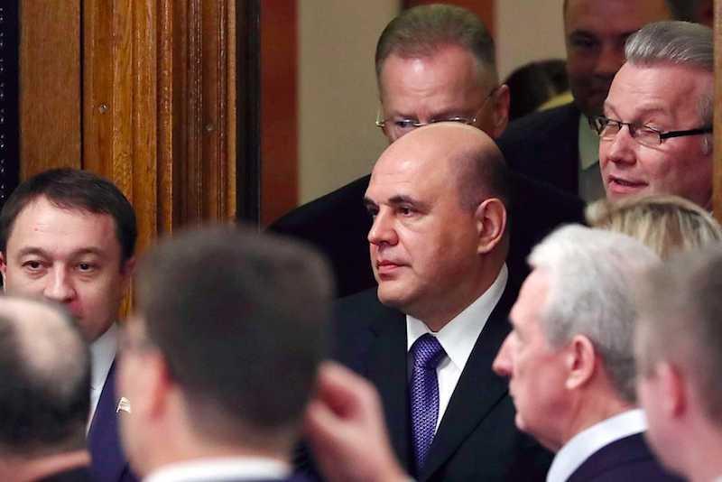 Депутаты Госдумы утвердили кандидатуру премьера