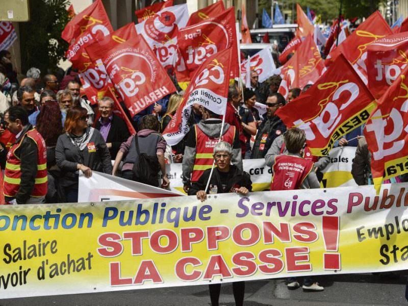 Пенсионную реформу готово отменить правительство Франции под давлением профсоюзов