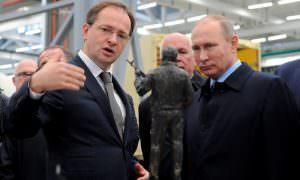 Путин сделал Мединского своим помощником