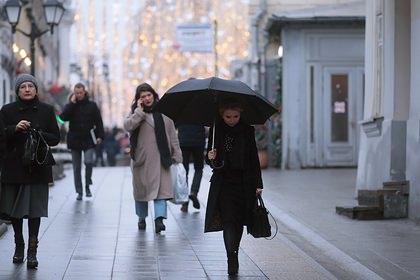 Россиянам спрогнозировали аномально теплый январь